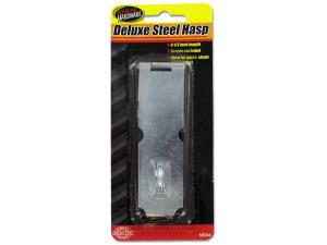 Deluxe steel hasp