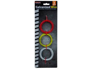 Wholesale: Colored Galvanized Wire Set 3 Piece