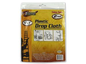 Wholesale: Plastic drop cloth set