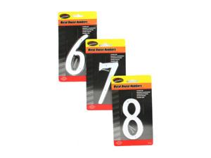Wholesale: Metal house numbers (0-9)