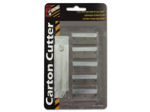 Wholesale: Carton Cutter with Extra Blades