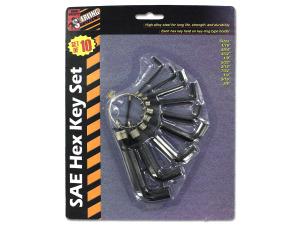 Wholesale: SAE Hex Key Set