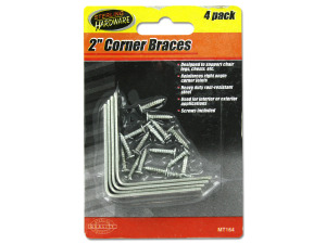 Wholesale: Corner Braces with Mounting Hardware