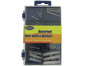 Wholesale: Nuts, bolts and anchor assortment