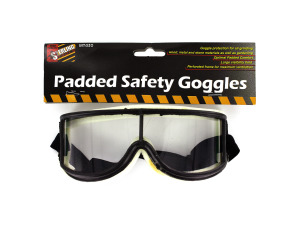 Wholesale: Padded safety goggles