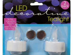 Decorative LED Tea Light Candles Set