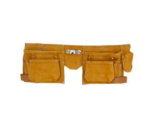 Wholesale: Heavy Duty Suede/Leather Tool Belt