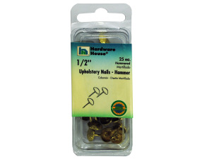 Wholesale: Hammered upholstery nails, pack of 25