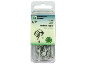 Wholesale: White Insulated Staples