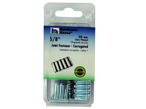 Wholesale: Zinc-Plated Large Corrugated Fasteners