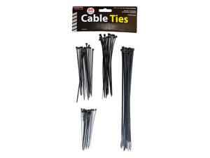Wholesale: Black Multipurpose Cable Ties