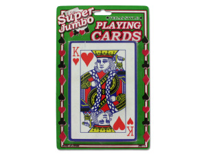 Wholesale: Jumbo playing card deck