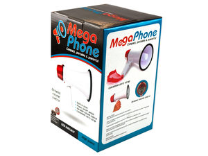 Wholesale: Compact Megaphone with Siren