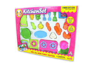 Wholesale: Kitchenware play set, assorted