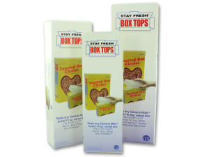 Stay Fresh Cereal Box Top Covers