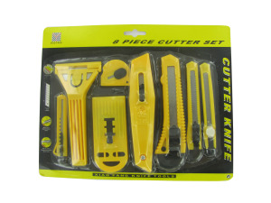 Wholesale: 8 Pack Utility Knife Set