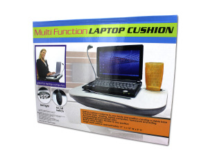 Adult Laptop Desk with LED Lamp