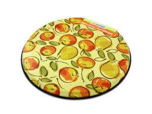 Round burner cover set