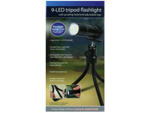 Wholesale: Tripod Flashlight with 9 LEDs