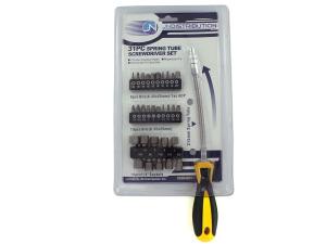 Wholesale: Spring tube screwdriver set