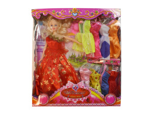Wholesale: Fashion doll, 4 assorted