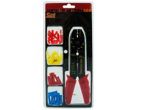 Wholesale: Crimping tool and terminal set