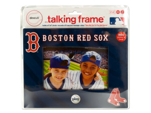 Boston red sox 4 x 6 recordable picture frame