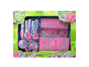 Wholesale: Kitchen Play Set with Utensils and Cookware