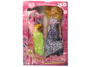 Wholesale: Prom Queen Fashion Doll with Dresses Set