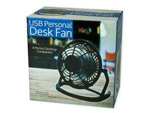 Wholesale: USB Personal Desk Fan