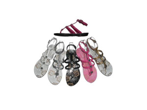 Wholesale: Ladies sandals (assorted colors)
