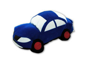 Car shaped pillow