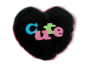Heart/cute shape pillow