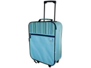 "Wholesale: 16"" blue rolling bag"