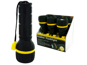 Rubber Flashlight Countertop Display