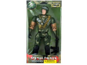 Toy soldier doll 2 asst