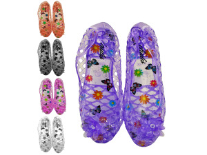 Ladies Cut-Out Jelly Shoes