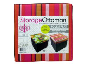 Wholesale: Fabric Storage Ottoman