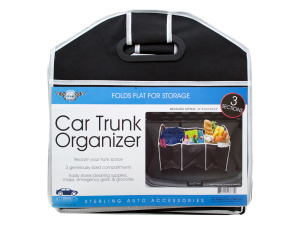Three Section Auto Trunk Organizer