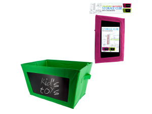 Wholesale: Multi-Purpose Storage Cube with Chalkboard