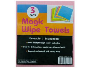 Wholesale: Magic Wipe Towels