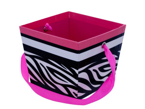 Wholesale: Printed Gift Box with Ribbon Handle