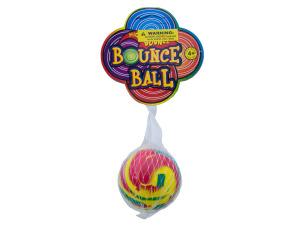 Swirly Super Bounce Ball