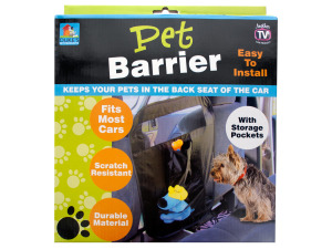 Wholesale: Auto Pet Barrier with Storage Pockets