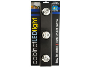Wholesale: 9-LED Under-Cabinet Light with Rotating Lights