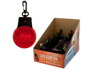 LED Clip-On Safety Light Counter Top Display