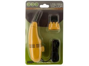 Wholesale: USB Mini Vacuum with Brush Attachment