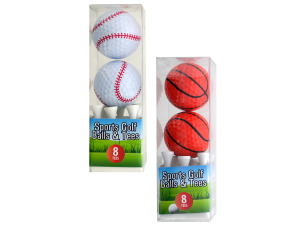 Wholesale: Sports Golf Balls and Tees Set