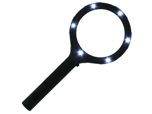 Wholesale: Light-Up Magnifying Glass Countertop Display