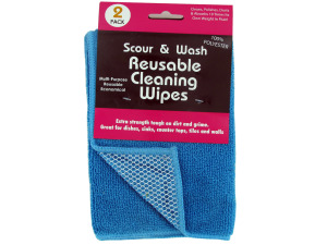 Wholesale: Scour and Wash Reusable Cleaning Wipes Set